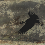 Flying Crowned Crane Photine