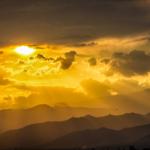 Sunset Over Kasese